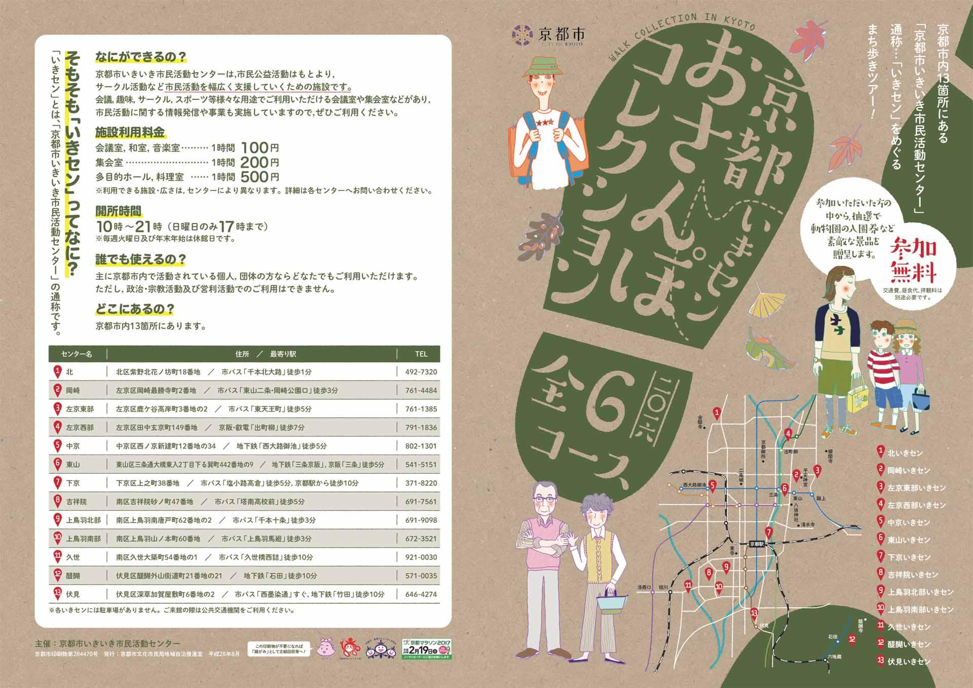 お散歩コレクション チラシ 表