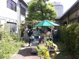 瓢箪収穫①